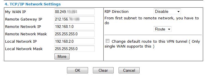 TCP-IP Network Setings